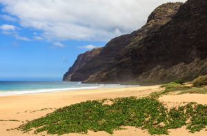 View of the Napali coast from Polihale beach in Kauai, Hawaii Islands.; Shutterstock ID 118625338; Project/Title: Fox Business News; Downloader: Melanie Marin